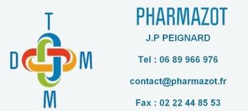 PHARMAZOT, une présence dans les DOM-TOM auprès des pharmacies, parapharmacies, magasins diététiques et magasins d'appareillage médical.